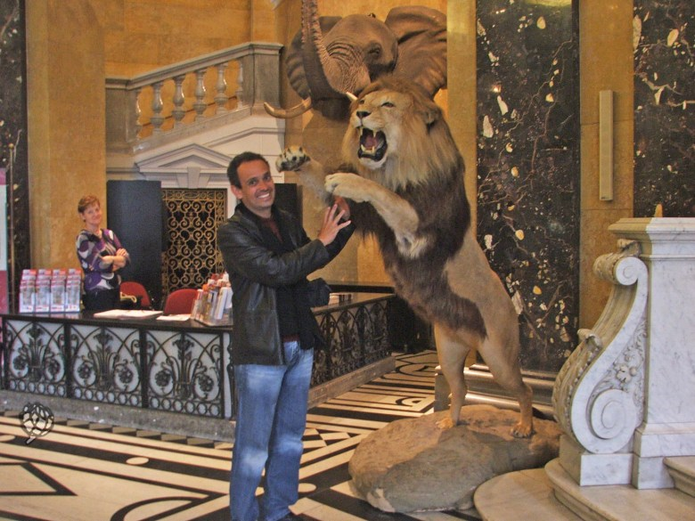 museu viena Pipo leao