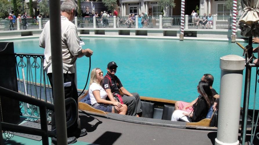 Gondola nosso embarque