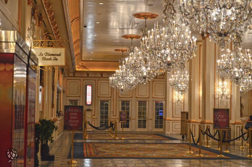 Paris Hotel lobby