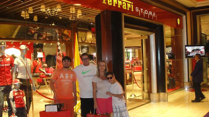 Loja Ferrari em Las Vegas