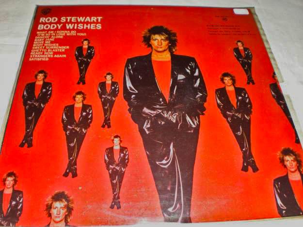Rod Stewart capa de disco