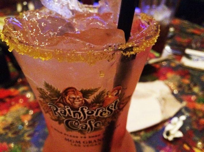 Rainforest Las Vegas coquetel