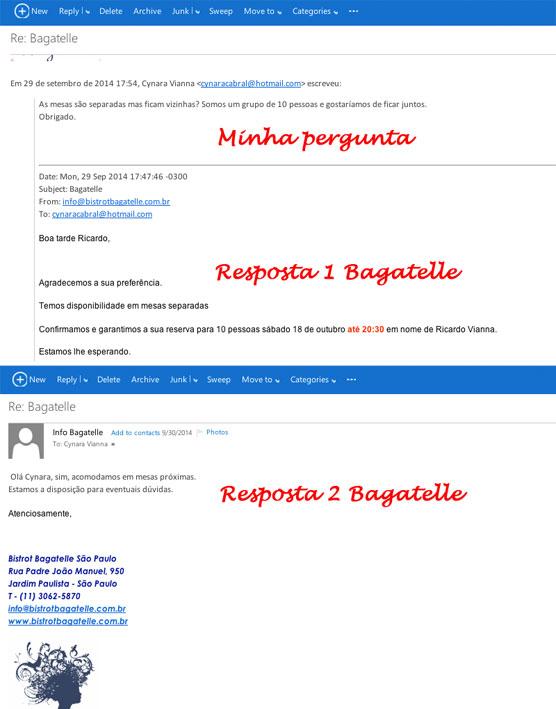 Bagatelle-emails