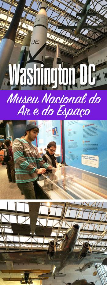 Museu do Ar e do Espaço em Washington DC
