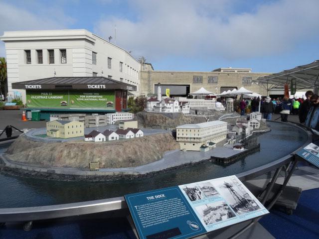 Alcatraz-maquete