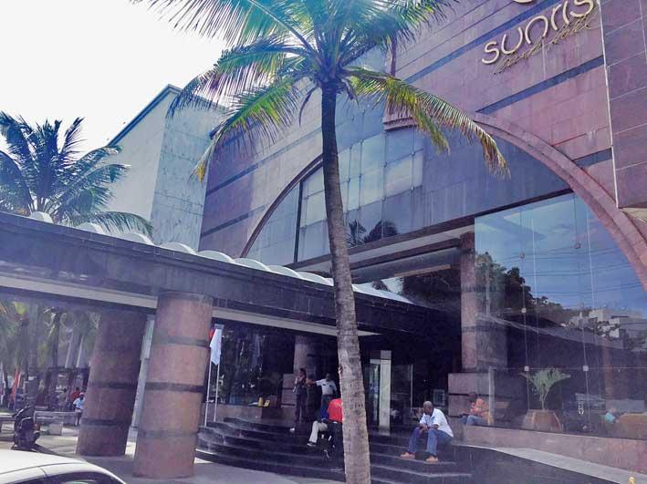 hotel-em-San-Andres-GHL-Sunrise-fachada