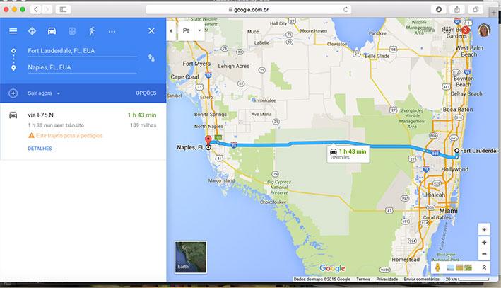 viagem para Fort Lauderdale mapa2
