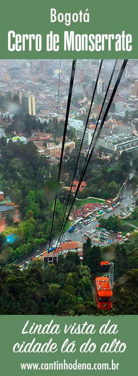 Cerro de Monserrate em Bogotá