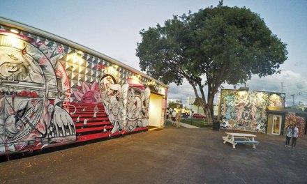 Wynwood Arts District. Lugar tudo de bom em Miami.