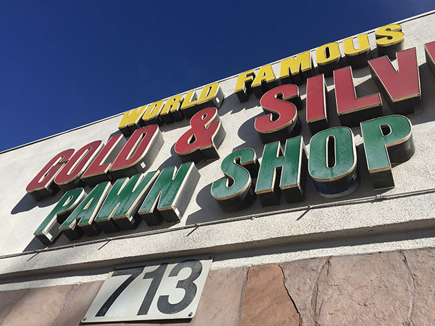 Como é a visita a Gold & Silver em Las Vegas