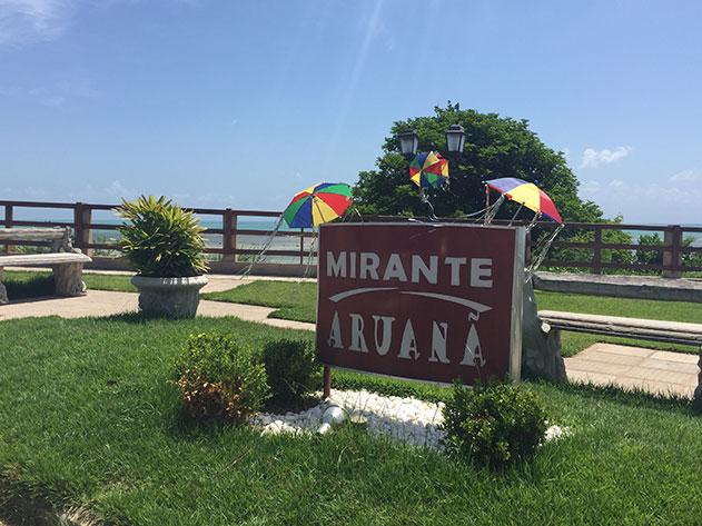 Mirante Aruanã em Japaratinga