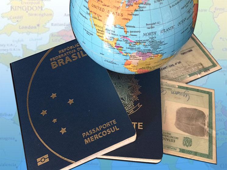 Lista dos países onde brasileiros não precisam de passaporte