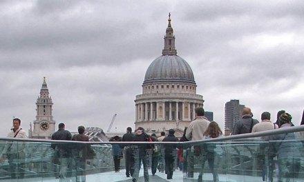 Londres vista da cúpula da Catedral de St Paul