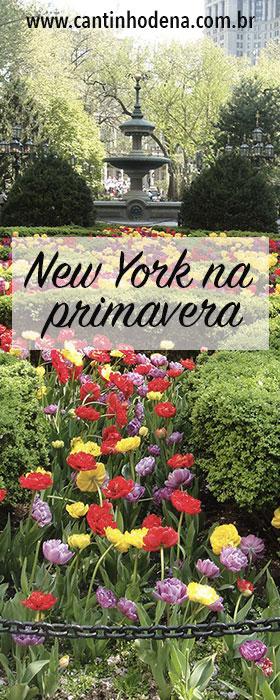 New York na primavera