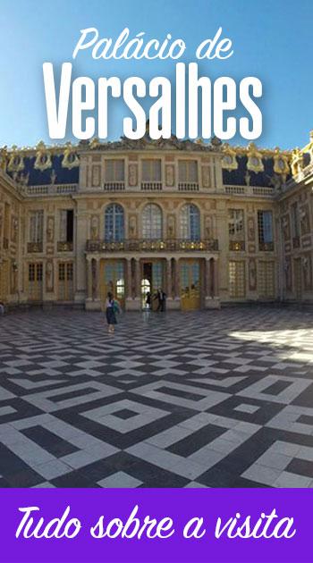 Visita ao Palácio de Versalhes