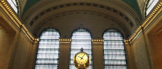 Relógio da Grand Central em New York