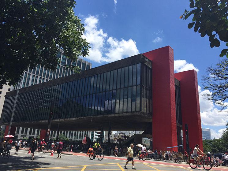 Museu na Avenida Paulista