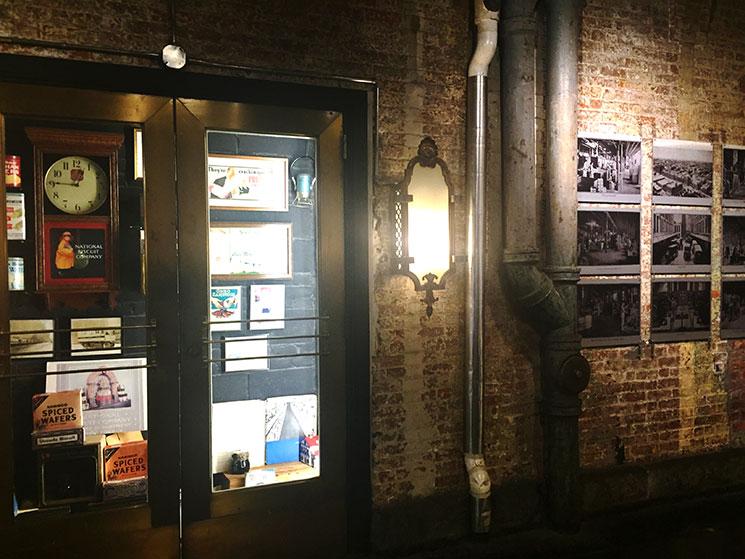 Detalhes das paredes do Chelsea Market