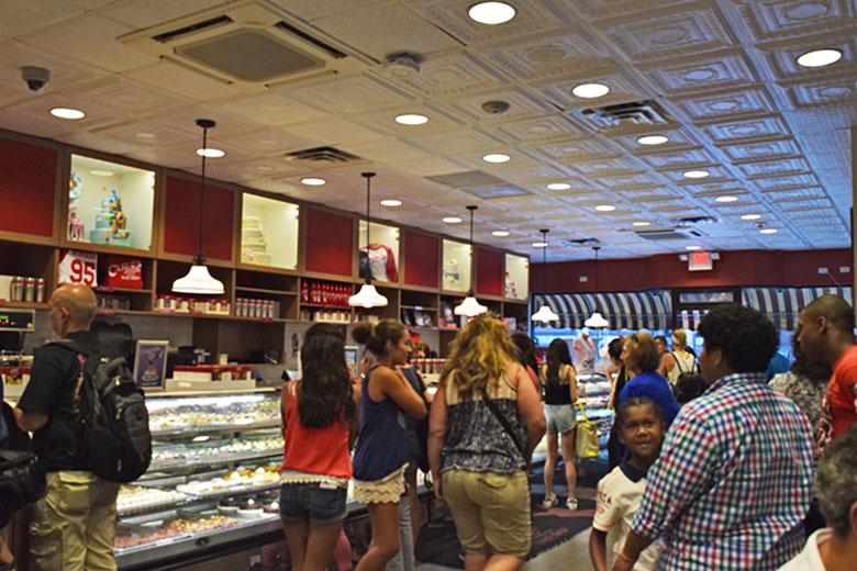 Loja do Cake Boss em New Jersey