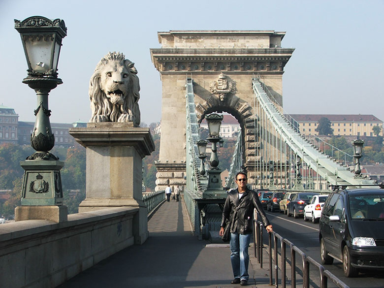 Leões da entrada da Ponte das Correntes