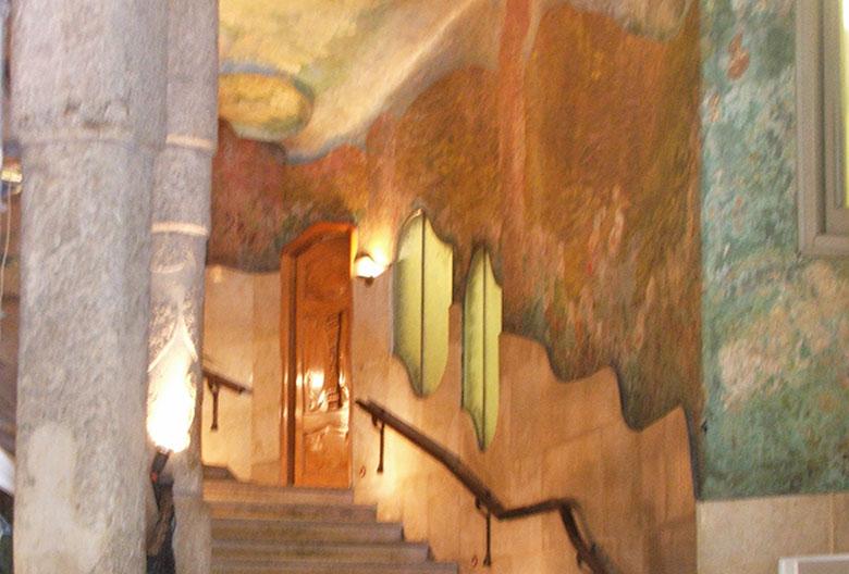 Sala de exposições da Casa Milà ou La Pedrera