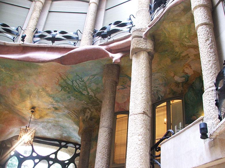 Pátio da Casa Milà ou La Pedrera