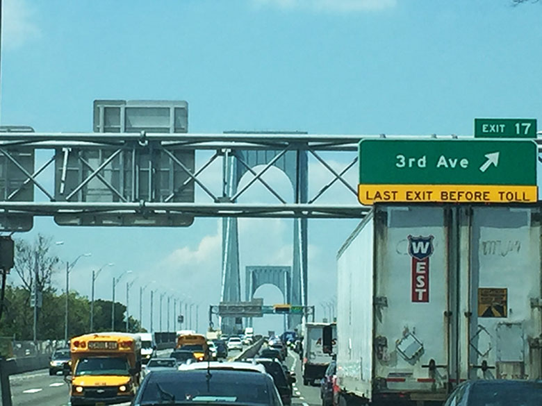 De carro de New York para Boston