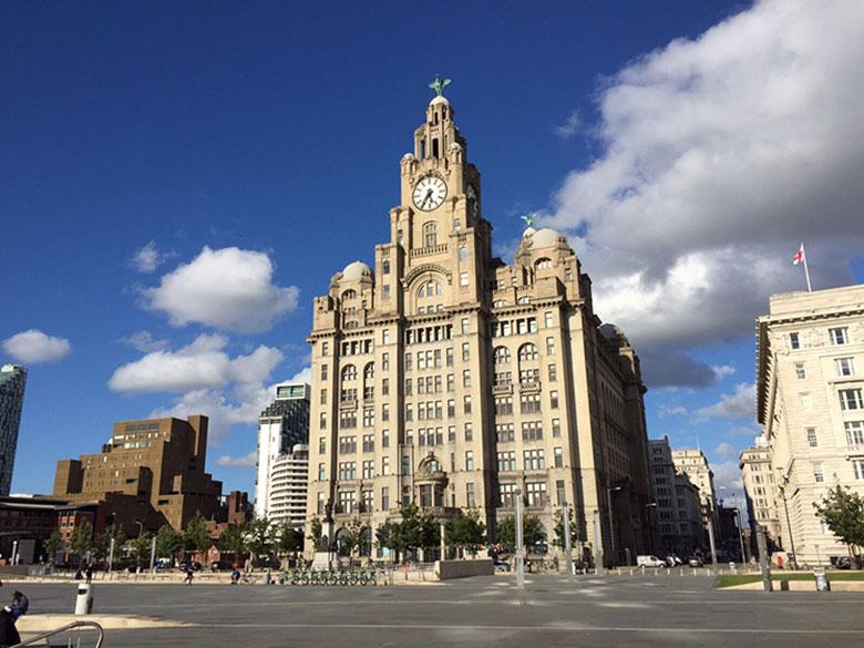 Liver Building em Liverpool