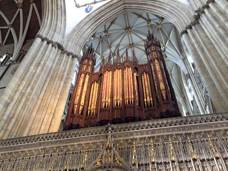 Órgão da Catedral de York