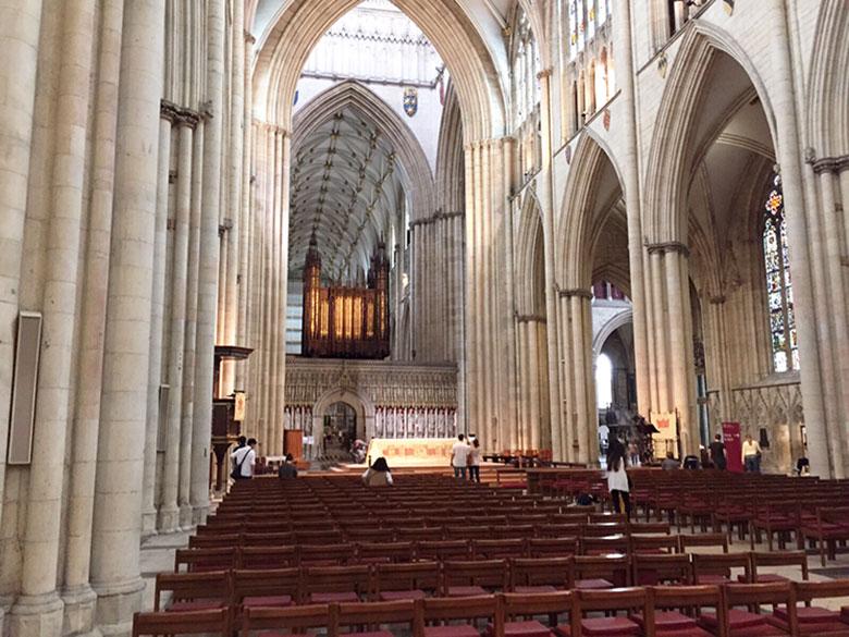 Interior da Catedral de York