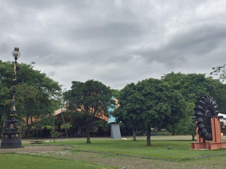 Área externa do Museu Catavento