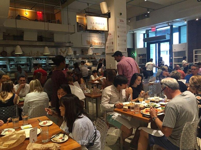 Restaurantes no Eataly em New York