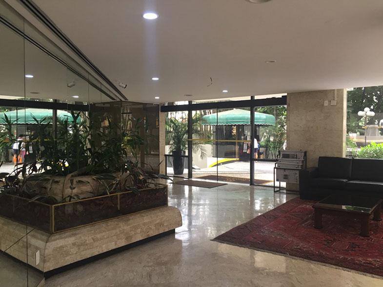 Recepção do La Residence Paulista