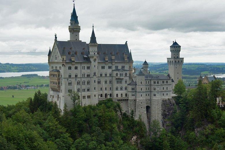 O lindo Castelo de Neuschwastein