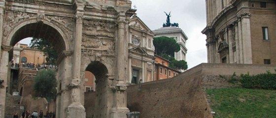 Fórum Romano em Roma