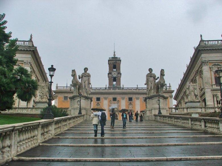 Monte Capitolino em Roma