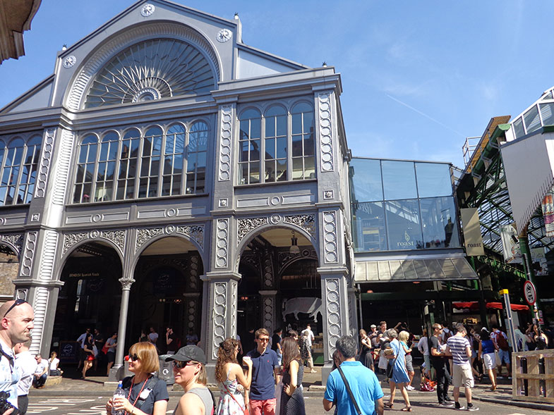 Fachada do Borough Market em Londres