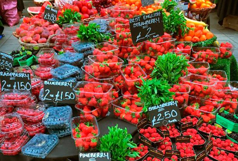 Frutas no Borough Market