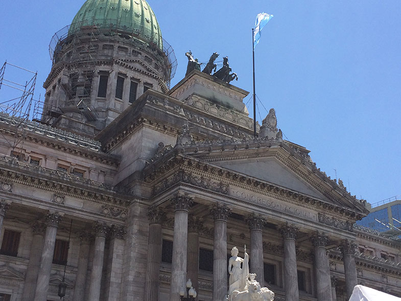 Praça do Congresso em Buenos Aires