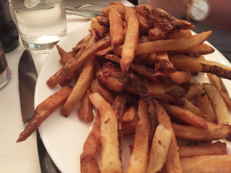 Batata frita do Wolfgang's Steakhouse em New York