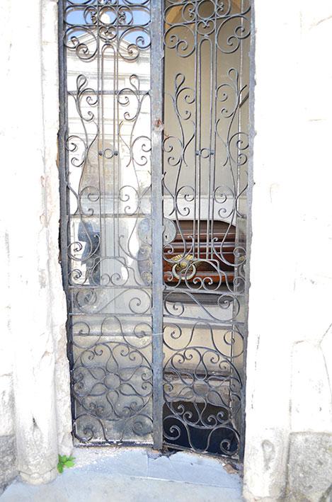 Túmulo no cemitério da Recoleta