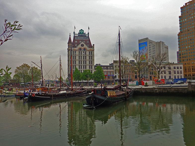 Cidade de Roterdã na Holanda
