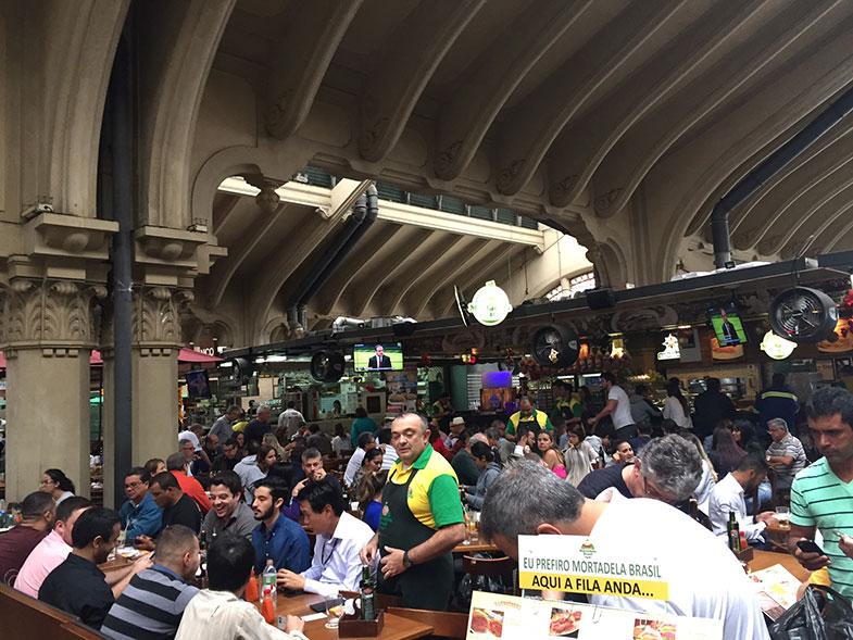 Restaurantes do Mercadão de São Paulo