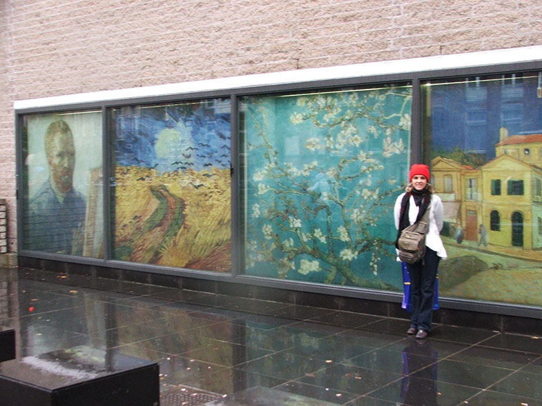 Van Gogh Museum em Amsterdam