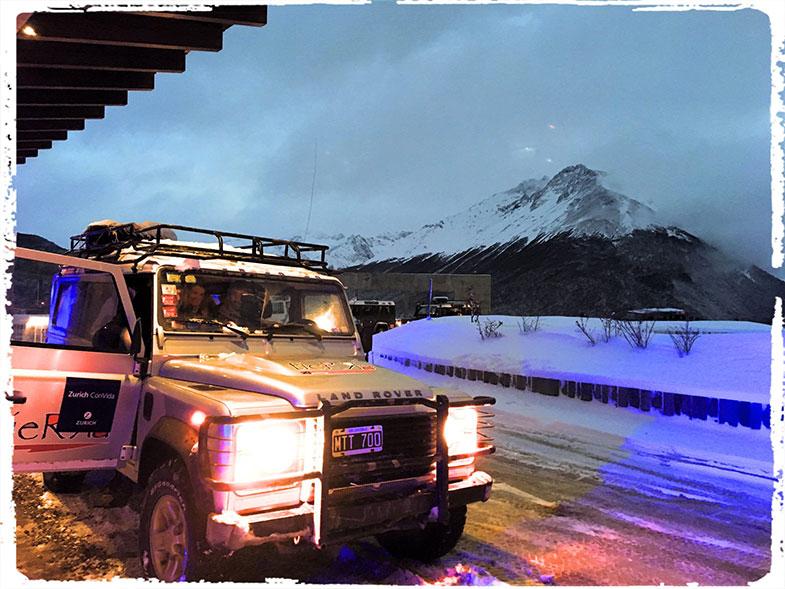 Off road nos Lagos Andinos em Ushuaia