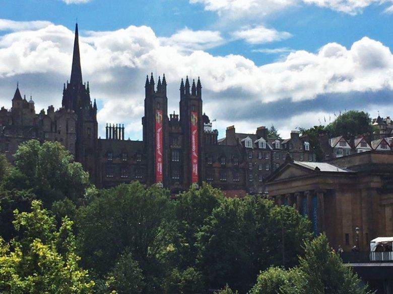 The Mound em Edimburgo