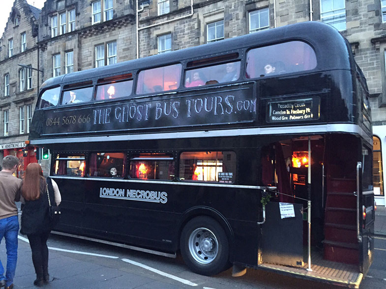 Ghost Tours em Edimburgo