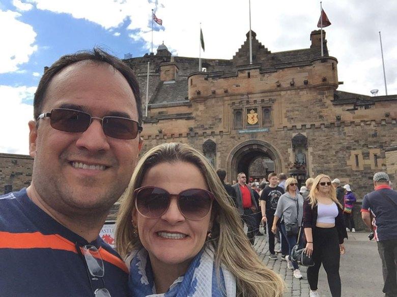Entrada do Castelo de Edimburgo