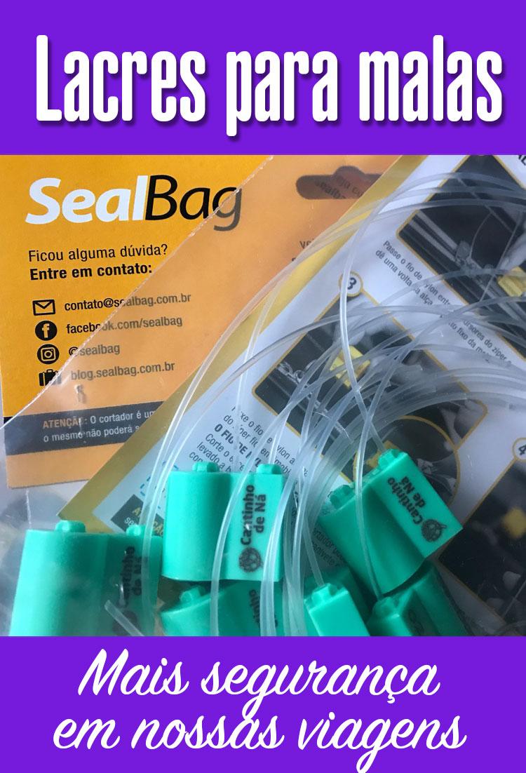 Como usar os lacres para malas Sealbag