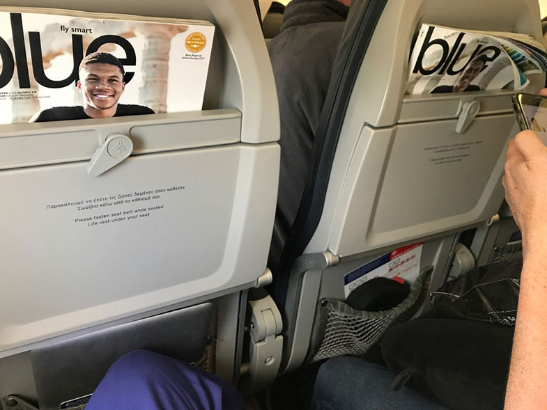 Avião da Aegean Airlines